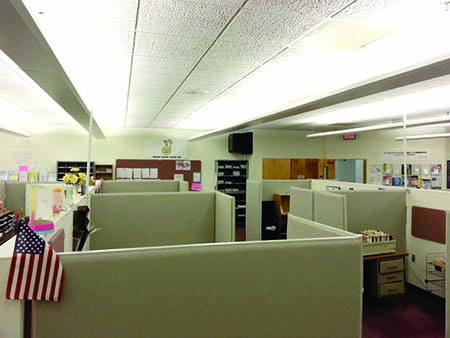 Office Cubicle Interior