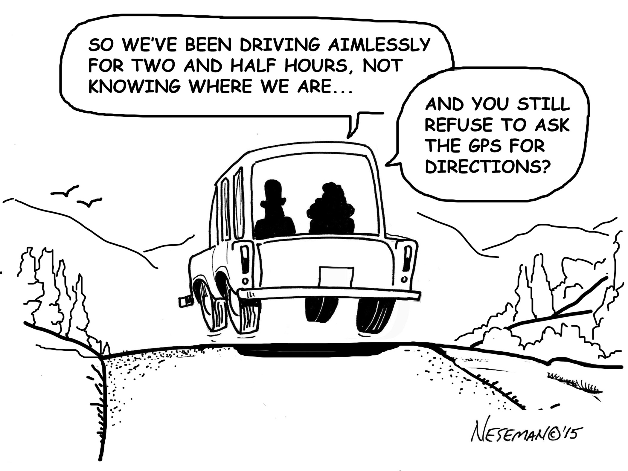 Cartoon-GPS